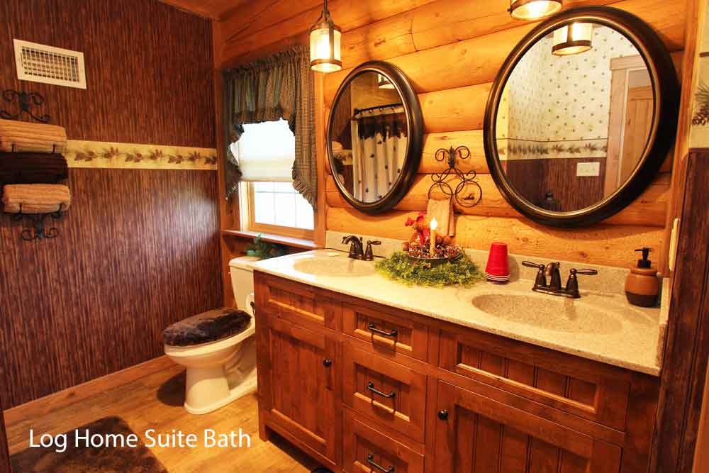 Farm bed and breakfast in Lancaster PA - Log Home Suite